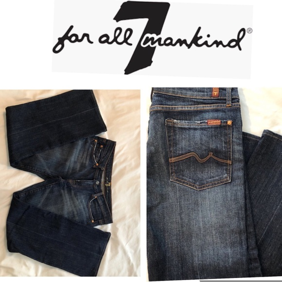 "7 For All Mankind Other - 74AM Jeans 31"" Distressed Bootcut Jeans"